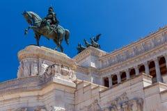 roma Altare della patria Immagini Stock Libere da Diritti