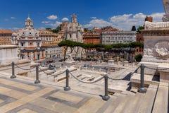 roma Altare della patria Fotografie Stock Libere da Diritti