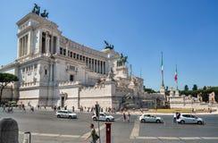 Roma, altare della patria (della Patria di Altare) Fotografia Stock Libera da Diritti