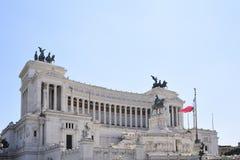 Roma, altare della patria Monumento al re Vittorio Emanu Fotografia Stock