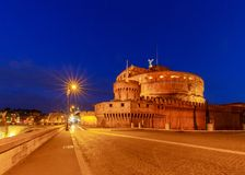 roma ` Angelo de Castel Sant imagens de stock royalty free