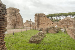 Roma antica, palatino Fotografia Stock