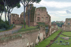 Roma antiga, palatino Imagens de Stock