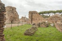 Roma antiga, palatino fotografia de stock