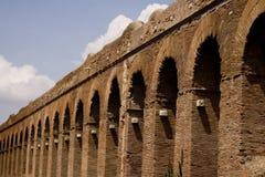 Roma: Aqueduto de Alessandrino Fotografia de Stock Royalty Free