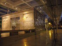 Roma Ara Pacis imagen de archivo libre de regalías