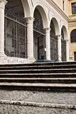 roma Basilica antica di San Pietro in Vincoli La chiesa, di immagini stock