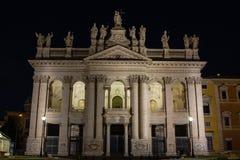 Roma basilika av San Giovanni i Laterano 17/11/2018 arkivfoto