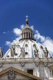 Roma - Baslilica di san Pietro Fotografie Stock Libere da Diritti
