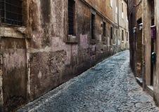 Roma, calles de Trastevere Fotografía de archivo libre de regalías