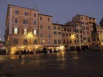 Roma Campo de Fiori fotografia stock