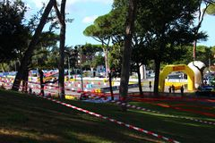 Roma Capitale Rally Image libre de droits