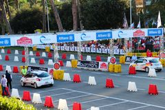 Roma Capitale Rally Images libres de droits