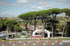 Roma Capitale Rally Stock Photo