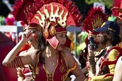 Roma carnival dancer Stock Image