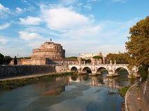 Roma, Castel Sant'Angelo Fotos de Stock Royalty Free