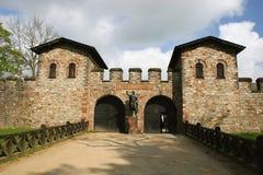 Roma castle Saalburg, Germany Stock Photography