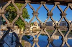 roma Catedral do ` s do rio e do St Peter de Tibre fotografia de stock