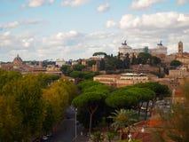 Roma central quieta Foto de Stock
