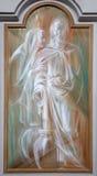 Roma - cerimonia nuziale in Cana come primo miracolo del Jesus. Fotografie Stock Libere da Diritti