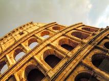 Roma Colloseum en primavera Imagen de archivo libre de regalías