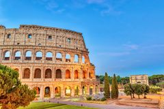 Roma Colosseum foto de stock royalty free