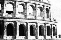 A Roma Colosseum Fotografia de Stock