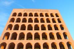 Roma, Colosseum quadrato Fotografie Stock Libere da Diritti