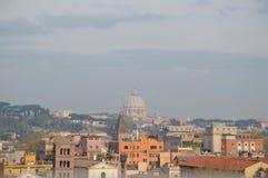 Roma dalla collina di Aventine Fotografia Stock Libera da Diritti