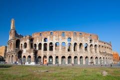 ROMA 8 DE AGOSTO: O Colosseum em agosto 8,2013 em Roma, Itália. Foto de Stock Royalty Free