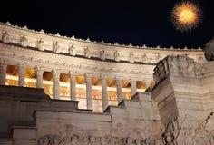 Roma, della Patria di Altare Immagini Stock