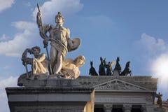 Roma, della Patria di Altare Fotografie Stock Libere da Diritti