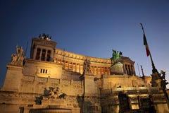 Roma, della Patria di Altare Fotografia Stock