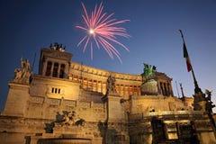 Roma, della Patria di Altare Immagine Stock Libera da Diritti
