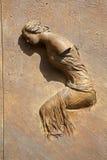 Roma - detalhe de porta de Angeli do degli de Santa Maria Imagem de Stock
