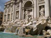 Roma Di Trevi Royalty Free Stock Photography