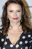 Roma Downey on the red carpet. Stock Images