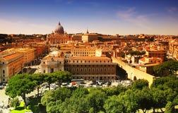 Roma e Vaticano, Itália fotografia de stock