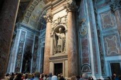 Roma. El Vatican, catedral de San Pedro. foto de archivo