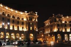 Roma em a noite Imagem de Stock