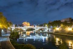 Roma en la noche Fotografía de archivo