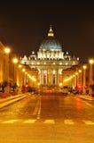 Roma entro la notte Fotografie Stock