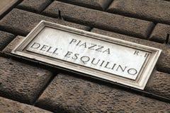 Roma - Esquilino fotografie stock libere da diritti