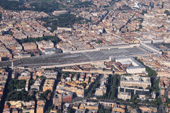 Roma, estación de los términos Fotos de archivo