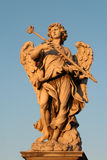 Roma - estatua del ángel Fotos de archivo