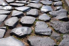 Roma (estrada romana antiga) Fotos de Stock