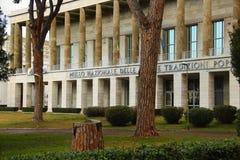Roma EUR, Museo Nacional de los artes y tradiciones populares Fotografía de archivo libre de regalías