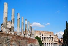 Roma (fórum romano) Imagem de Stock Royalty Free