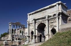 Roma - fórum romano - Italy imagem de stock royalty free