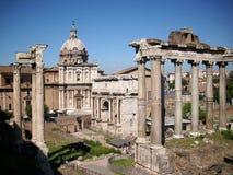 Roma - fórum Romanum Imagem de Stock